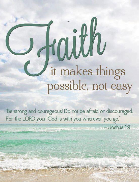 faith joshua bible verse