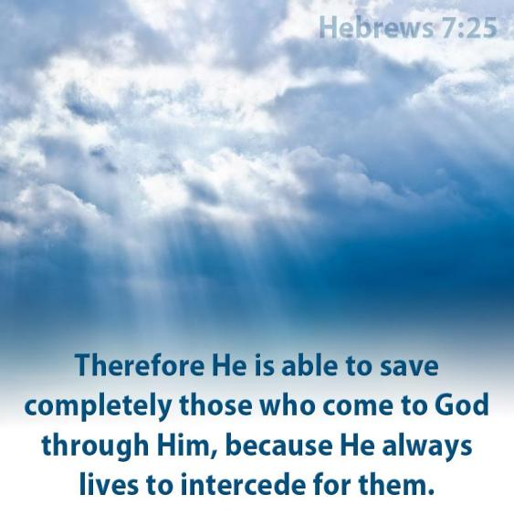 Image result for hebrews 7:25